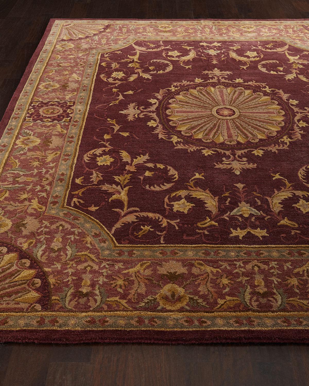 Safavieh Burgundy Oaks Rug, 9'6 X 13'6