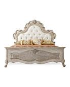 Estelline King Upholstered Panel Bed