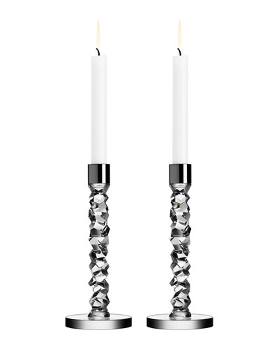 Two Carat Candlesticks