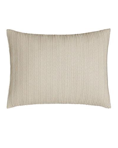 Moonscape Faux-Leather Pillow, 12