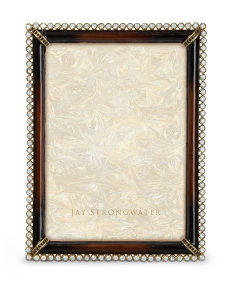 """Jay Strongwater Stone Edge 5"""" x 7"""" Picture Frame"""