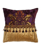 Dian Austin Couture Home Royal Court Pieced Pillow,