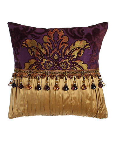 Royal Court Pieced Pillow, 17
