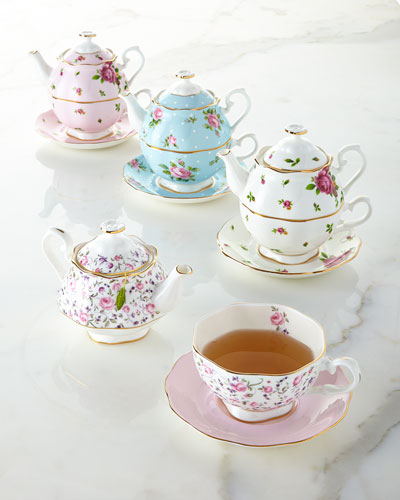 Country Roses Tea For One