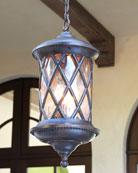 Barrington Gate Three-Light Outdoor Pendant
