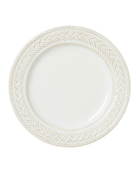 Juliska Le Panier Whitewash Side/Cocktail Plate
