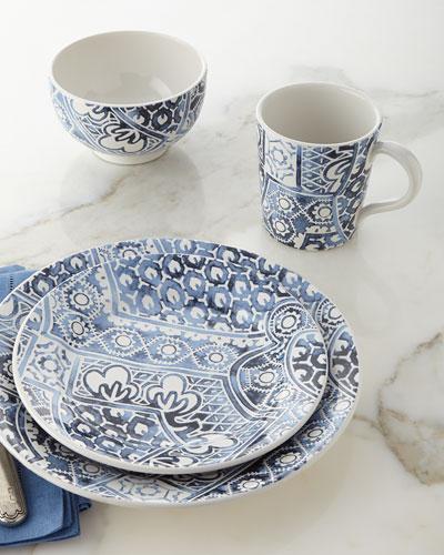 4 - Piece Cote D'Azur Batik Dinnerware Place Setting