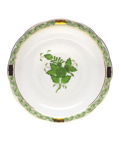 Green Chinese Bouquet Saucer