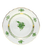Green Chinese Bouquet Salad Plate