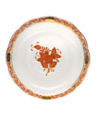 Rust Chinese Bouquet Saucer