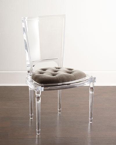 Katherine Acrylic Side Chair