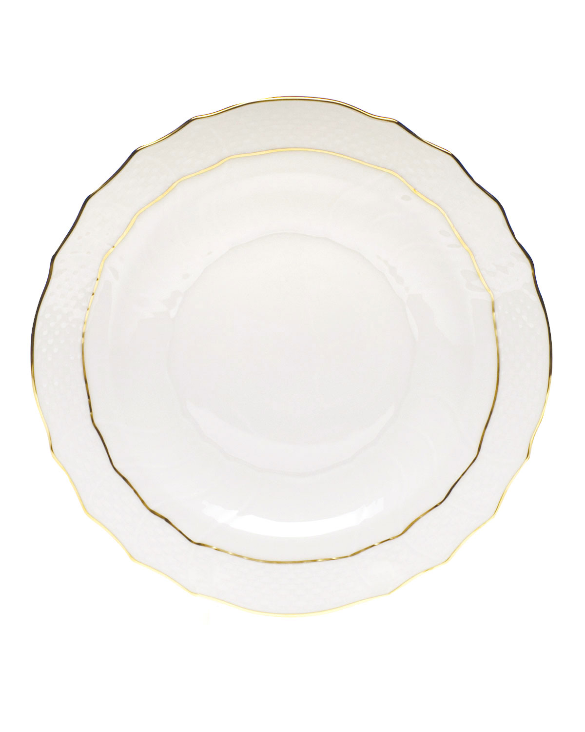 Herend Dinnerwares GOLDEN EDGE SALAD PLATE
