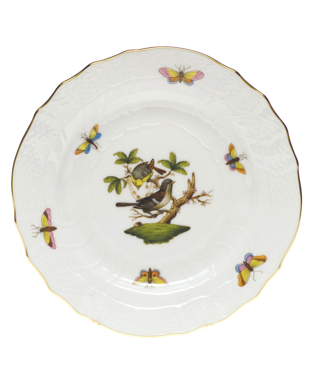 Herend Dinnerwares ROTHSCHILD BIRD BREAD & BUTTER PLATE #1