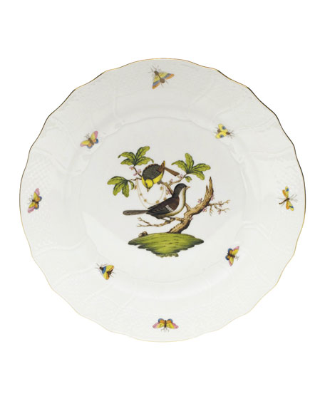 Herend Rothschild Bird Dinner Plate #1