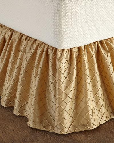 Queen Diamond-Stitch Dust Skirt