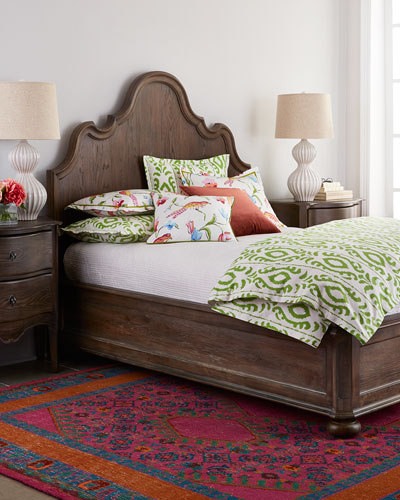 Justene King Panel Bed