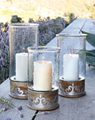 G G Collection Large Heritage Collection Candleholder