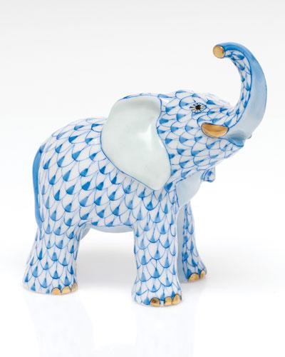 Young Elephant Figurine