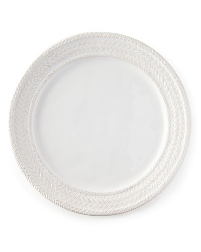 Le Panier Whitewash Charger Plate