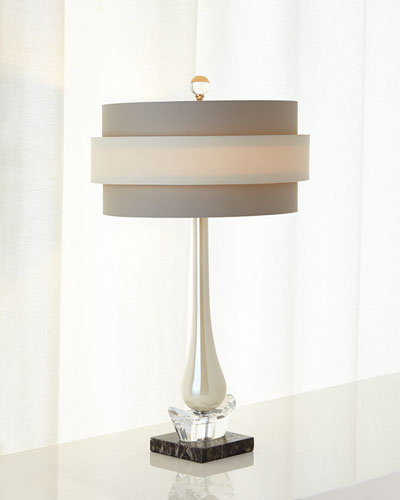 PEARLIZED GLASS ACCENT LAMP