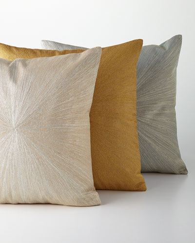 Metallic Nimbus Pillow, 20