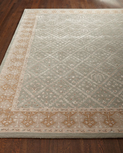 Diamond Field Rug, 5'6