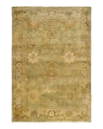 Valley Oushak Rug, 6' x 9'