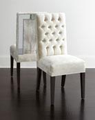 Brittney Mirrored Dining Chair