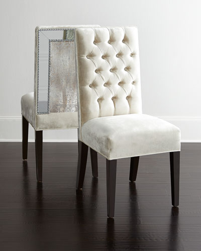 Brittney Mirrored Dining Chair