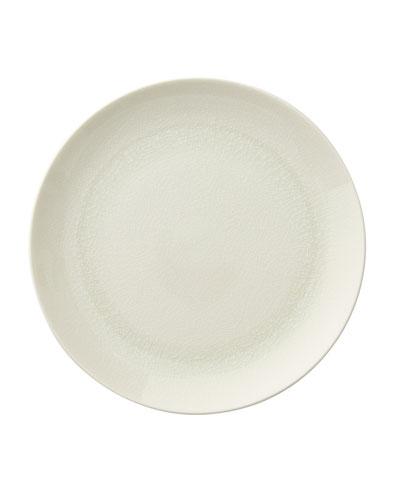 Opal Crackle Dinner Plate