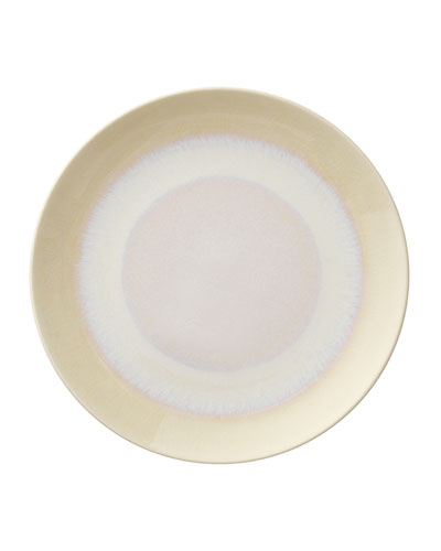 Crackle Opal Pooling Ombre Dessert Plate