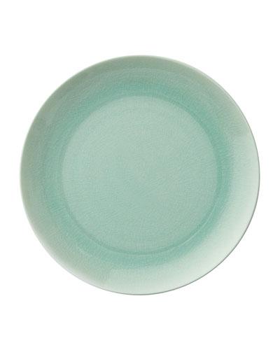 Seaglass Crackle Dinner Plate