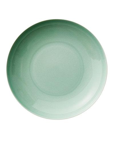 Seaglass Crackle Pasta Bowl