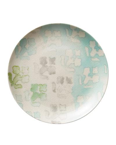 Watercolor Dessert Plate