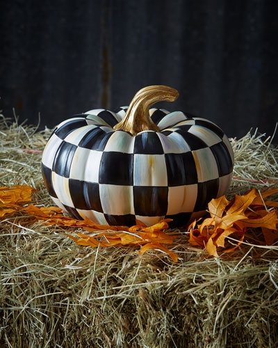 Courtly Check Small Squash Pumpkin