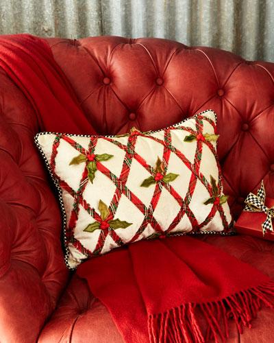 Tartan Yuletide Lumbar Pillow