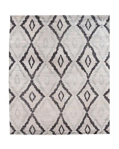Darcy Bamboo-Silk Rug, 8' x 10'