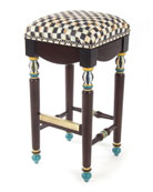 Courtly Check Underpinnings Barstool