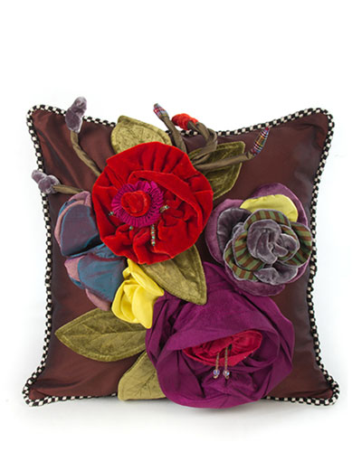 Botanic Large Square Pillow