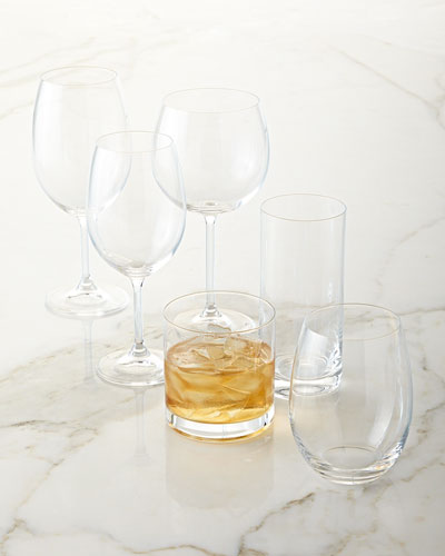 Laura White Wine Glass, Set of 4