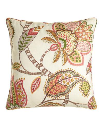 Floral Capri Pillow, 20