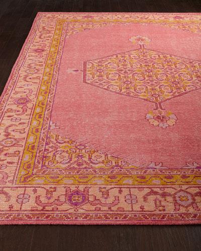 Neiman_marcus Flamingo Rug, 3'6 X 5'6
