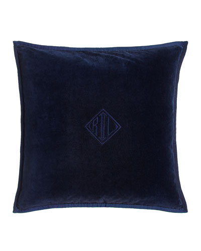 Colton Navy Pillow, 18