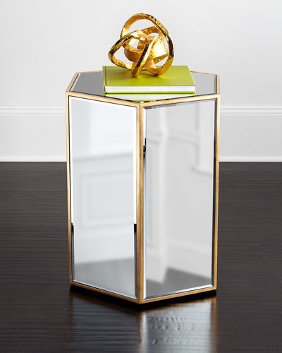 Wade Mirrored Side Table