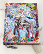 Zebra Girl Hardbound Journal