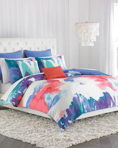 King 3-Piece Painterly Comforter Set