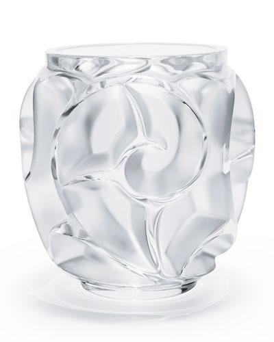 Tourbillions Small Clear Vase