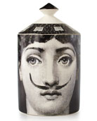 Fornasetti Moustache Single-Wick Scented Candle, 300 g