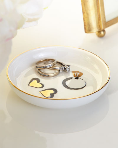 Daisy Place Ring Dish