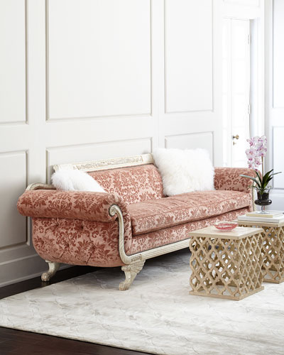 Norris Tufted-Back Sofa 98